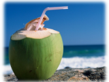 Coconut water, natural thirst quencher